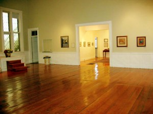 Main Hall looking into the Gallery