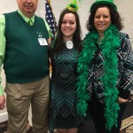 John, Nicole, Penny - St. Patrick Day Meeting March 17, 2016