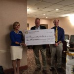 Rotary - Merrimack Valley Food Bank Presentation of Check 1 6 2016