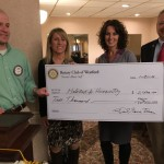 Westford Rotary Jan 21 - presentation of the SummerFest Check to the Habitat for Humanity of Greater Lowell