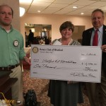 Westford Rotary Jan 21 - presentation of the SummerFest Check to the Westford Education Foundation