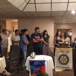 Friends Forever Group - July 2015 at Rotary Meeting